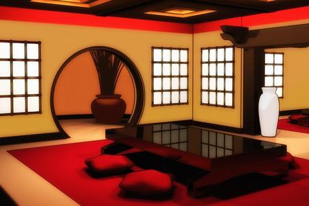 feng shui gli ambienti della casa parte, Disegni interni