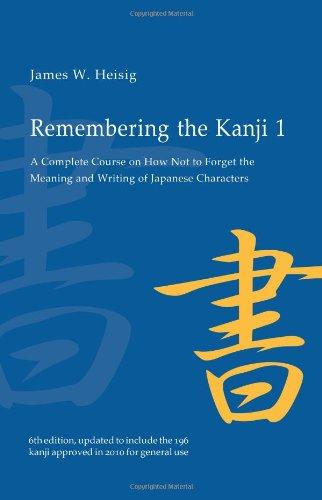 remembering kanji 1