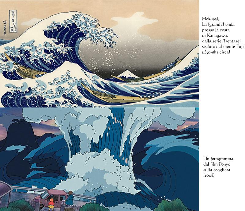 hokusai - ponyo