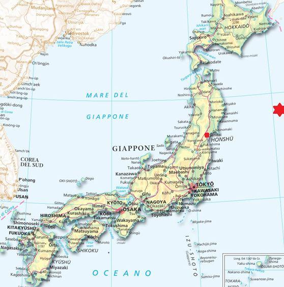 Giappone_-_Mappa