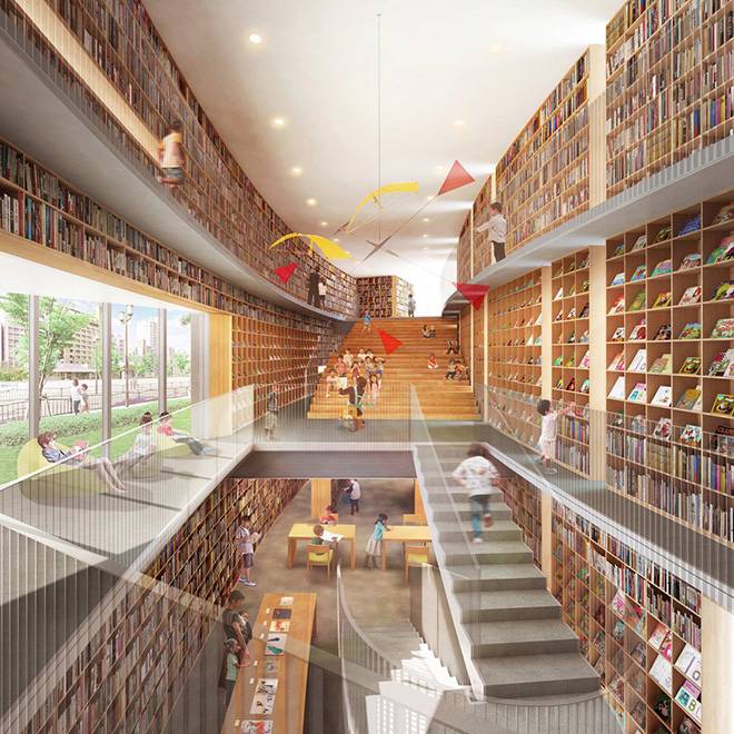 tadao-ando-osaka-children-library