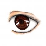 occhi stilizzati