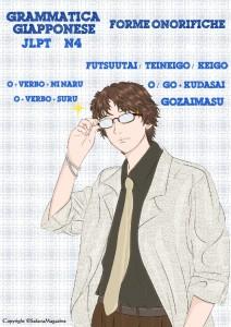 Forme Onoriche - Futsuutai, Teineigo, Keigo, Gozaimasu, o-go + Kudasai, O-verbo + Suru, O-verbo + ni naru